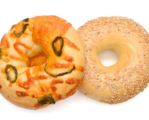 Fresh Bagels from The Complex Bean - Coffee Bar and Bakery